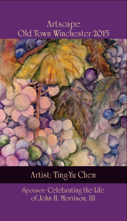 Winchester Artscape 2015: Ting-Yu Chen