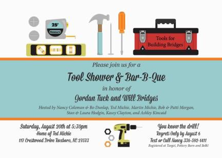 Tool Shower & Bar-B-Que